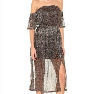NWT MINKPINK Midas Midi Dress